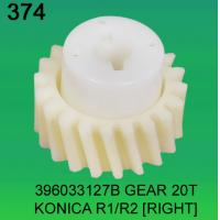 Quality 396033127B / 3960 33127B GEAR TEETH-20 (RIGHT) FOR KONICA R1,R2 minilab wholesale