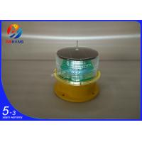 Quality AH-LS/B ICAO type A solar powered LED obstruction light/LED solar aircraft warning light wholesale