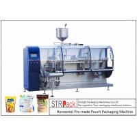 China Electric Powder Pouch Packing Machine / High Accuracy Paste Packaging Machine  on sale