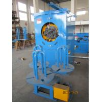 Quality Blue Automated Steel Wire Take Up Machine With Pneumatic Brake Low Noise wholesale