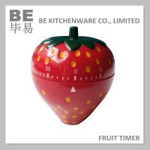 China Mechanic Kitchen Timer High Quality Strawberry Shaped Timer on sale