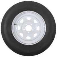China St205/75r15 Radial Trailer Tire with 15 White Wheel - 5 on 4-1/2 on sale