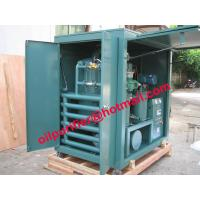 China Fully enclosed type Transformer Oil Filtration Plant, Used Oil Filtering Unit, particulates removal,dewater,degas on sale