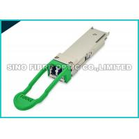 Cheap 100G QSFP28 LR4 Fiber Optic Transceiver Module 10Km 3.3V PIN Receiver for sale