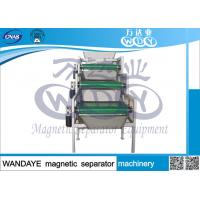 Quality 3 Layer Field Intention 15000GS Magnetic Drum Separator Belt Conveyor Iron Remover wholesale
