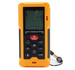 Quality 100 Laser Digital Distance Meter Volume Calculation Waterproof And Dustproof wholesale