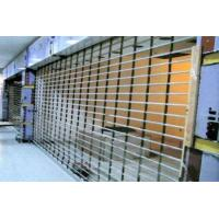 Quality Wireless Remote Control Steel Security Shutters , Practical Commercial Roller Shutters wholesale