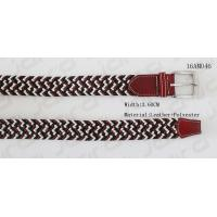 Buy cheap Multi Colors Fashion Mens Elastic Belts Antic Silver Buckle , Length Adjustable from wholesalers