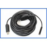Quality IP23 15M 10mm Industrial Endoscope water resistant Camera for Car Pipe 1 / 6 CMOS wholesale