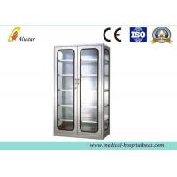 Quality Glass Metal Medical Cabinet Hospital Instrument Cabinet 900*400*1750mm wholesale