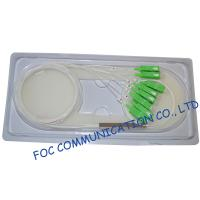 Quality Fiber Optic Plc Splitter With SC / APC Connector Low Loss For Test Equipments wholesale