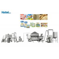 Quality High Safety Factor Baby Food Processing Equipment Nutrition Rice Powder wholesale
