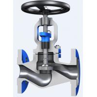 Quality Through Conduit Pattern Flanged Globe Valve Full Opening with ASTM A 216 Material wholesale