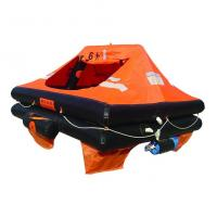 Quality 10Person Marine Inflatable Life Raft, Throw-over/Davit-launch/Self-righting life raft wholesale