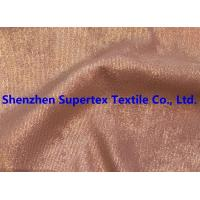 Quality Golden Foil Blotch Print Corduroy Stretch Polyester Nylon 16Wales 210GSM wholesale