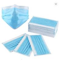 Quality 3Ply Surgical Face Mask Non Woven Air Anti Virus and Dust disposable Surgical Medical Face Mask , wholesale