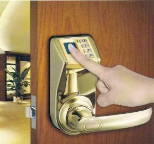 Quality KO-F33 optical biometric fingerprint door lock with password wholesale