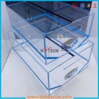 Quality 2016 acrylic sneaker box, acrylic shoe box, shoe storage box display rack wholesale