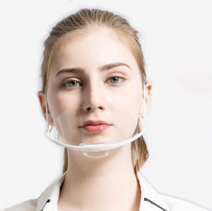Quality Fog Proof Ergonomic ABS PET Transparent Mouth Cover wholesale