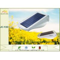 Quality IP65 Courtyard Polysilicon Solar Powered Outdoor Lights With Motion Detector wholesale
