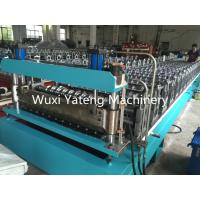 Buy cheap Metal Roofing Galvanized Steel Corrugated Sheet Making Machine For Wall Roof Panel product
