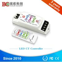 Quality BC-310RF  DC 5V 12V 24V DIY Color Temperature led controller; 8A 2 channels RF remote touch dimmer wholesale