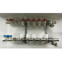 Quality Underfloor Heating Systems House Water Manifold With EPDM O Ring wholesale