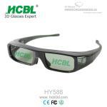 Quality Button Battery Active Shutter 3D Glasses / Eyeglasses For DLP Projector / Xpand Cinema / 3D TV wholesale