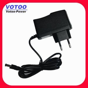 Quality 6W 6V 1A DC Power Adapter 110VAC-264V AC For Radio Shack , Digital Camera Power Adapter wholesale