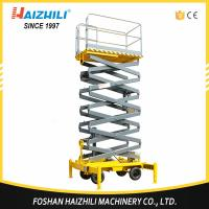 Quality Factory direct sell 300kg 3m four-wheel mobile hydraulic scissor lift platform wholesale