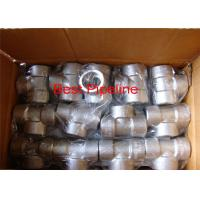 Quality NPT ASTM A105 Forged Pipe Fittings Stainless Steel Withstand High Pressure wholesale