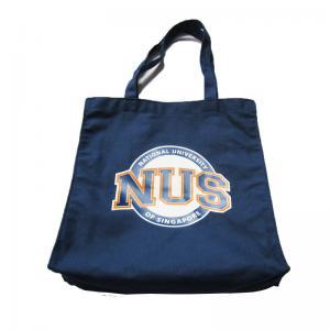 Quality 8oz Travel Plain Canvas Tote Bags / Stylish Womens Tote Handbags wholesale