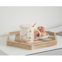 Quality 330CC Wide Mouth 15cm Personalised Ceramic Mugs wholesale