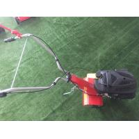 Quality Customized Logo Petrol Garden Tiller With Detachable / Big Grass Box wholesale