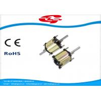 Quality High Voltage Dual Shaft Permanent Magnet DC Motor Used For Massager wholesale