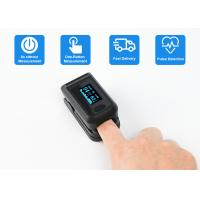 China Small Digital Fingertip Pulse Oximeter , Blood Oxygen SpO2 Saturation Sports Pulse Oximeter on sale