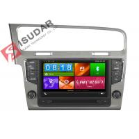 Quality Mirror Link VW Golf Dvd Player , Volkswagen Touch Screen Radio Support Steering Wheel Control wholesale