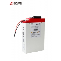 China 48V 16AH White Shell Lithium Electric Bicycle Battery Pack on sale