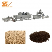 China China factory floating fish pellet extruder / fish feed machine price on sale
