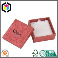 China Handmade Cardboard Paper Gift Box with Foam for Jewelry Necklace on sale