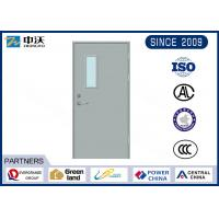China Anti Theft Fire Rated Exterior Doors / Reliable Steel 90 Minute Fire Door on sale
