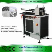 Quality Automatic computerized circular cutting machine PVC plastic tube free chip cutting tool without burrs extrusion ring cut wholesale
