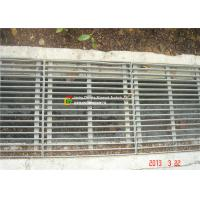 Quality Flat / Round Bar Steel Grate Drain Cover For Port Drainage Channels wholesale