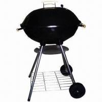 Quality Charcoal Barbecue Grill with 0.7mm Steel Plate Thickness, Measures Diameter 56cm wholesale