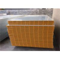 Quality 50mm MGO hollow core sandwich panel with 0.426mm steel sheet for exterior wall panel wholesale