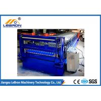 Quality 22 Stations Corrugated Sheet Roll Forming Machine , Full Automatic Corrugated Roofing Machine wholesale
