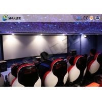 Quality 3D Glasses 5D Movie Ticket 5D Movie Theater With 5D Motion Ride / Control System wholesale
