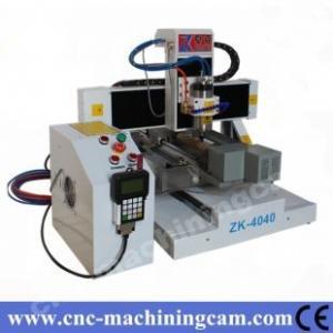 China mini sheet metal cnc machines ZK-4040(400*400*120mm) on sale