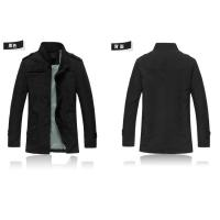 Quality Hot New men jacket collar cultivate one's morality fashion leisure men's upset warm coats wholesale