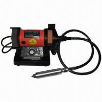 China 3 Inches Multipurpose Mini Bench Grinder with 120W Input Power on sale